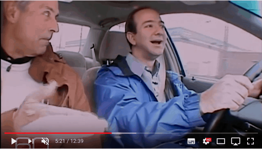 Jeff Bezos on TV in 1999