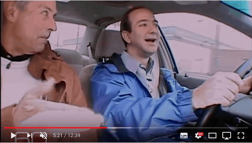 Jeff Bezos on TV in 1999
