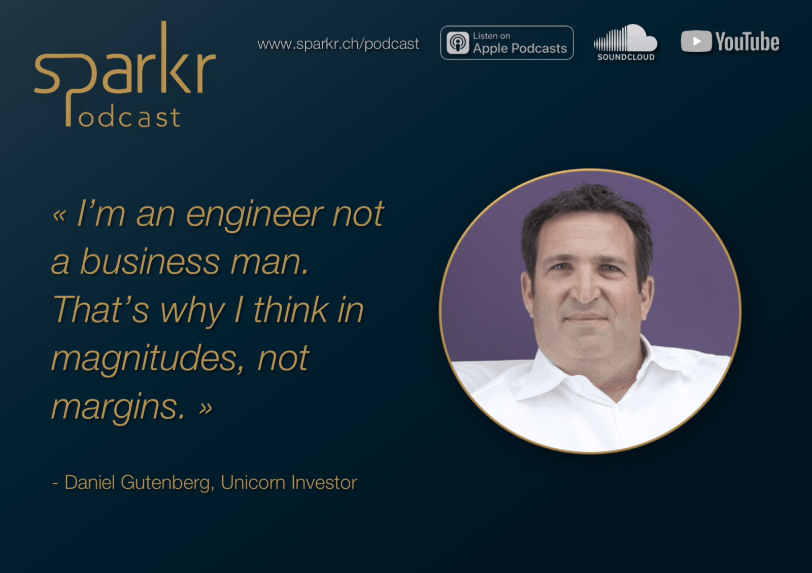Sparkr Podcast Quote Daniel Gutenberg Magnitudes