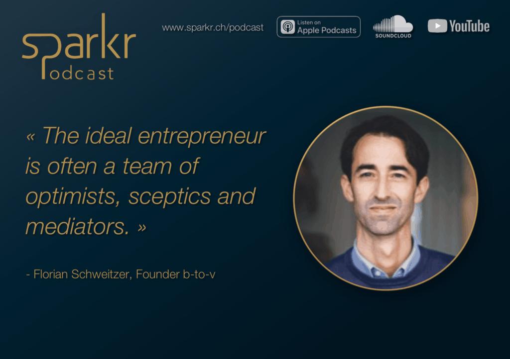 Sparkr Podcast Florian Schweitzer Entrepreneur Start-up