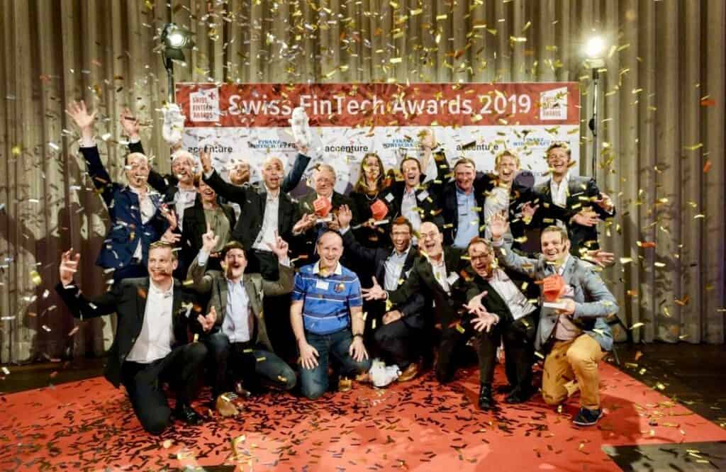 Swiss FinTech Awards Winners 2019